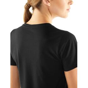 Icebreaker Tech Lite Solo SS Scoop Shirt Dame black
